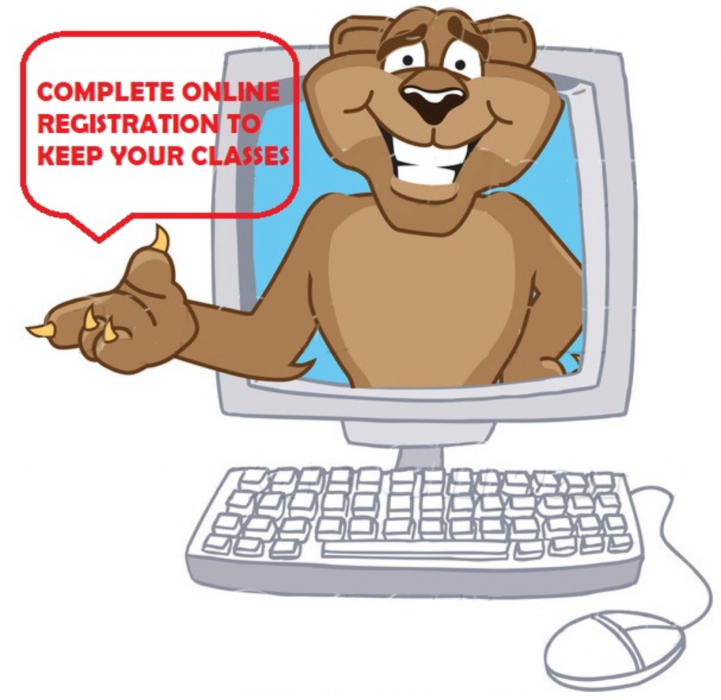Online Registration to be Cleared