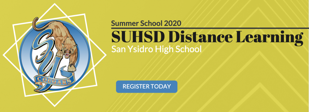 SUHSD Distance Learning Summer School